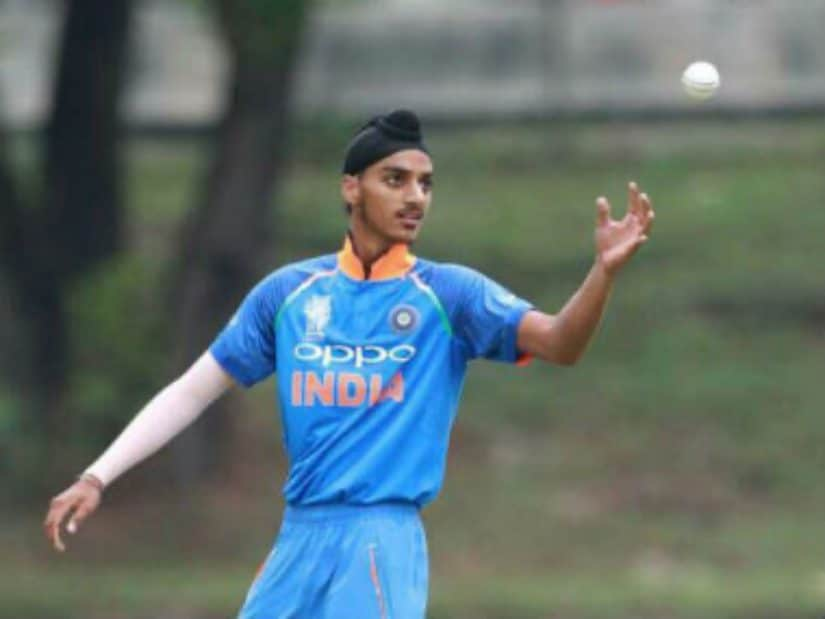 Arshdeep Singh has good pace, courtesy a 6'2'' frame and a whippy action with good arm speed. Image Courtesy: Darshan Singh.