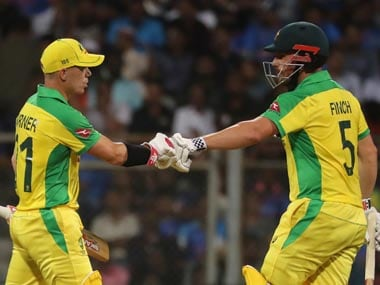 India vs Australia: 'We complement each other on the field,' say David Warner, Aaron Finch after unbeaten 258-run stand