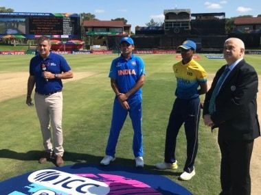 LIVE Score, India vs Sri Lanka, ICC U-19 World Cup 2020: Indian captain Priyam Garg joins Tilak Varma in the middle