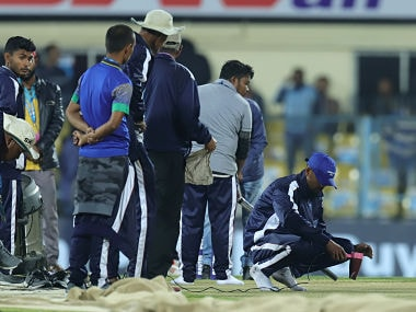 India vs Sri Lanka: 'Ground staff using life hacks on pitch', Twitter reacts to hair dryer, steam iron being used to dry Guwahati pitch