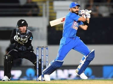 India vs New Zealand, LIVE Score, 2nd T20I in Auckland: Visitors on top as Kane Williamson departs for 14