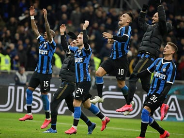 Coppa Italia: Nicolo Barellas stunning volley sends Inter Milan to semi-final with narrow victory over Fiorentina