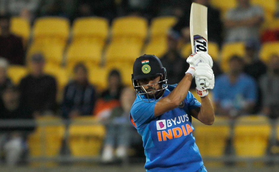After a below par showing by the Indian top-order it was Manish Pandey's crucial half-century that set up a competitive total for New Zealand to chase. AP