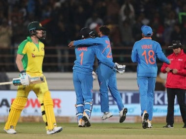 India vs Australia: Steve Smith blames loss of three quick wickets in middle overs for Aussies defeat in second ODI
