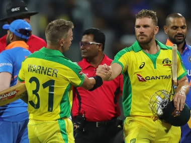 India vs Australia: David Warner, Aaron Finch share record stand as visitors give Men in Blue harsh reality check in 1st ODI