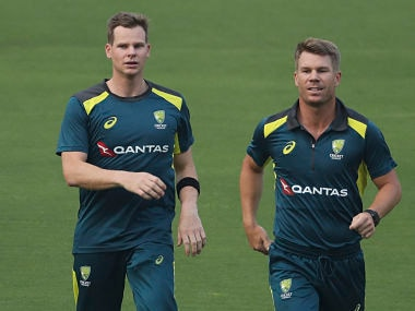 Steve Smith and David Warner's returns will make Australia favourites against India in Tests, feels Matthew Hayden