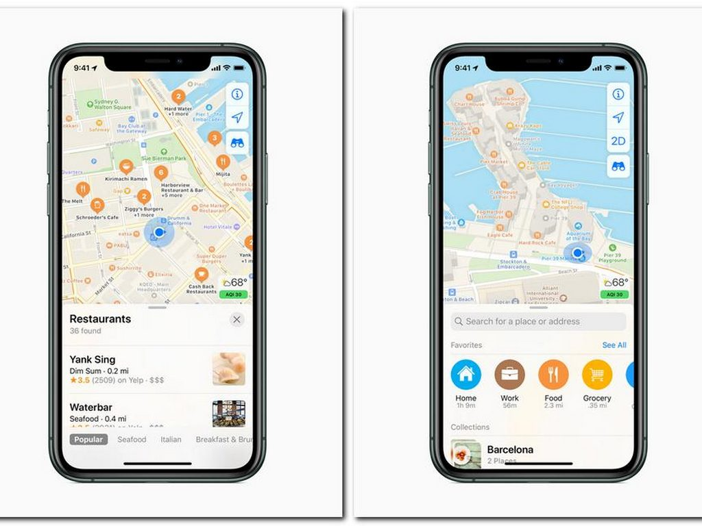 Apple Maps Redesign Starts Rolling out in the US