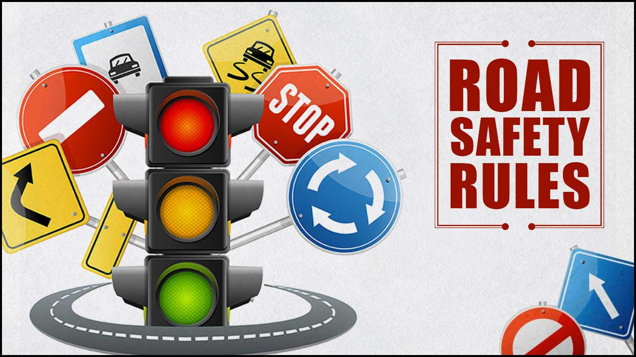 Top rules of road safety