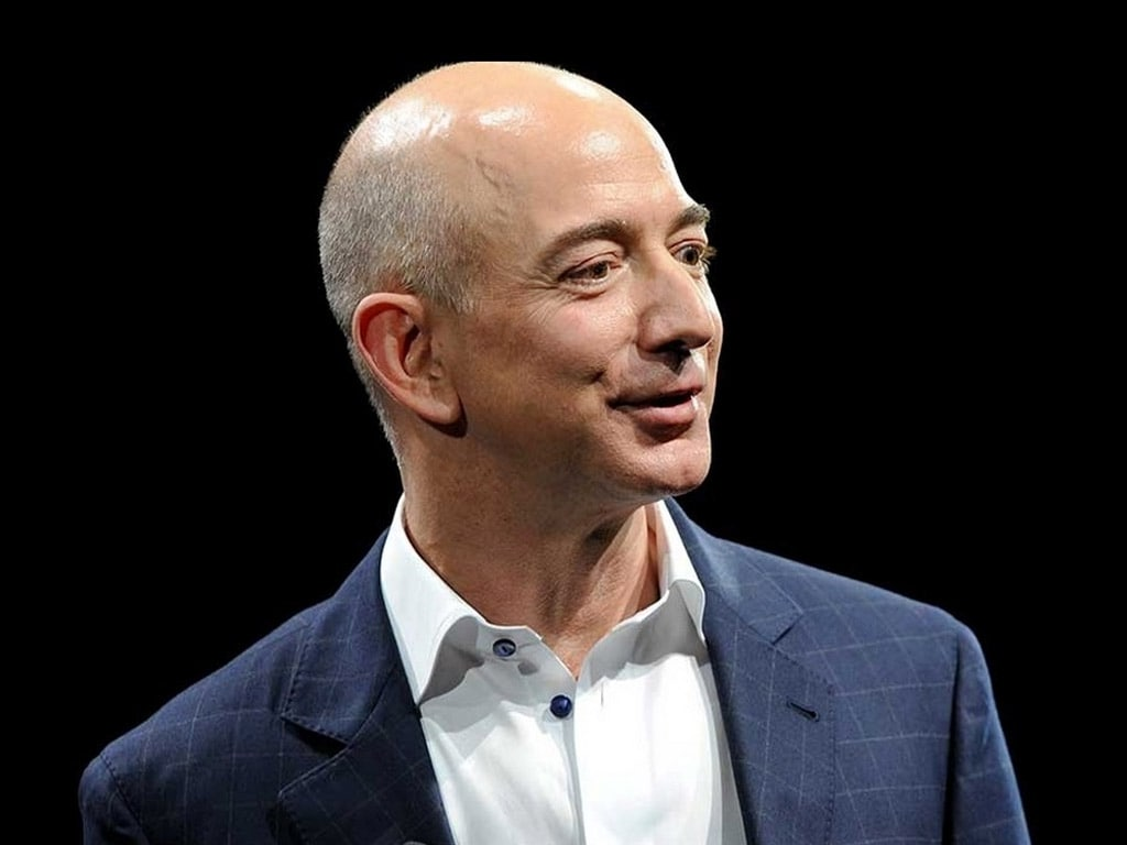 Jeff Bezos talks space, Blue Origin, and climate change at Amazon India event in New Delhi