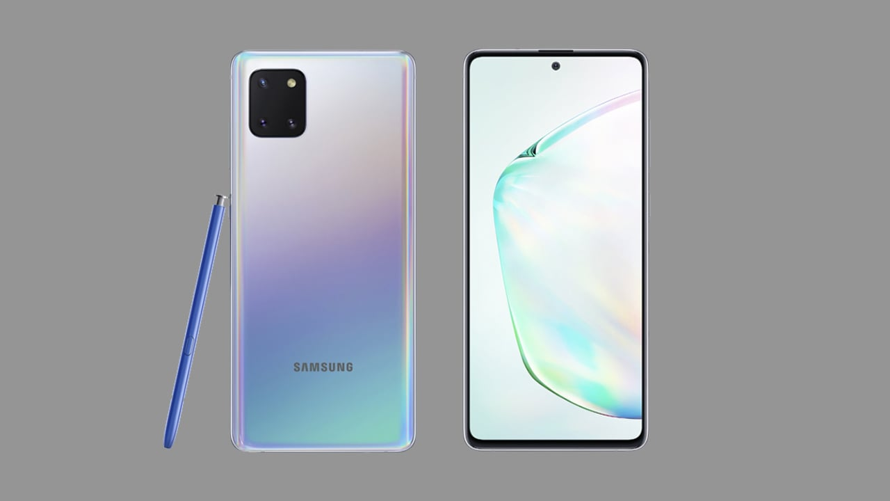 Samsung Galaxy Note 10 Lite to launch in India tomorrow: All you need to know- Technology News, Firstpost