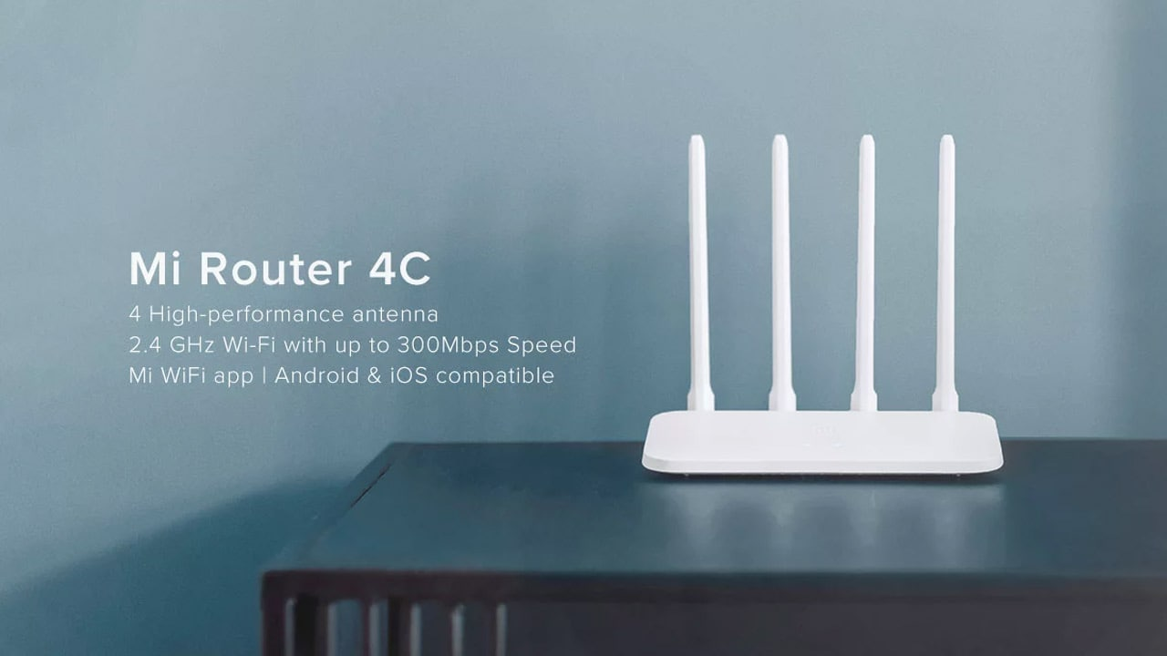 Xiaomi launches Mi Router 4C with four omni-directional antennae in India at Rs 999- Technology News, Firstpost