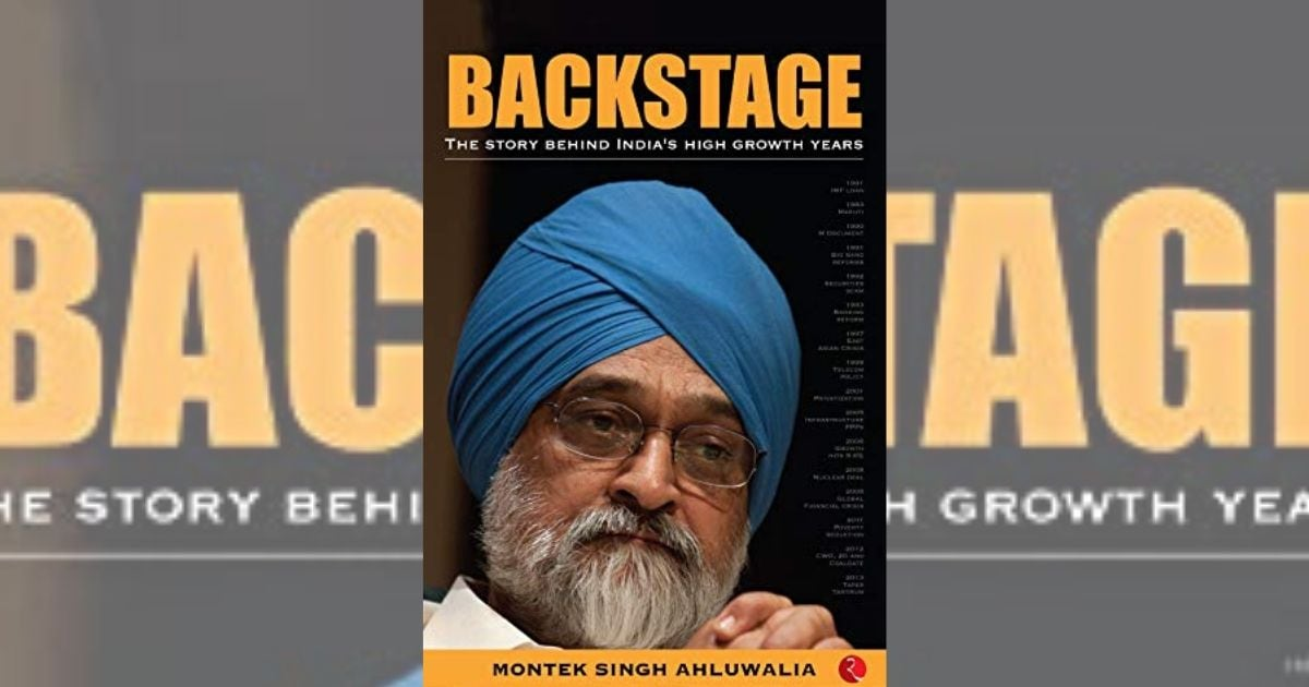 Montek Singh Ahluwalia's Backstage traces the trajectory of India's public policies, economic growth - Firstpost