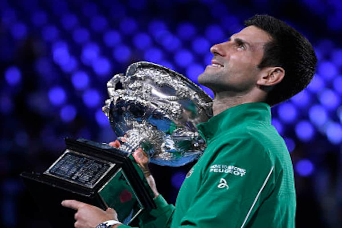 Australian Open 2020 Gritty Novak Djokovic Topples Dominic Thiem In Five Set Thriller To Clinch 17th Grand Slam Title Sports News Firstpost
