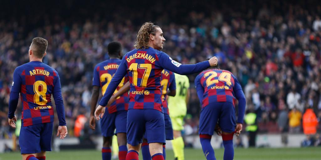 LaLiga: Antoine Griezmann, Sergi Roberto goals propel Barcelona to narrow victory over gritty Getafe - Firstpost