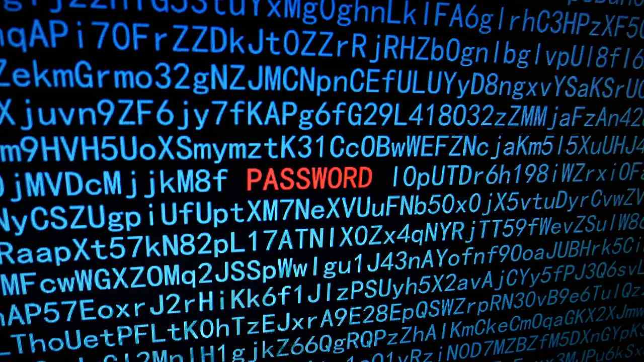Passwords are the first line of defence in the digital world. Image credit: Wikipedia