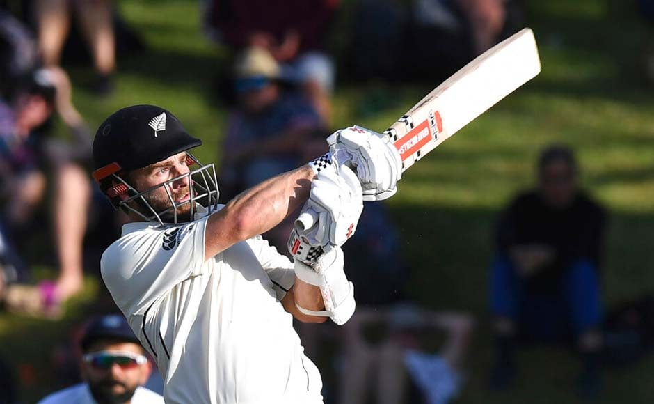 Kane Williamson's knock of 89 runs allowed New Zealand to take a lead of 51 runs over India on day two of the ongoing first Test at the Basin Reserve in Wellington. AP