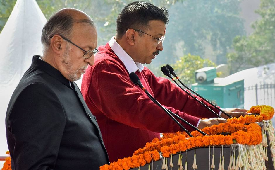 Arvind Kejriwal sworn in as Delhi CM for third consecutive term: Ministers take oath in their own style at packed Ramlila Maidan