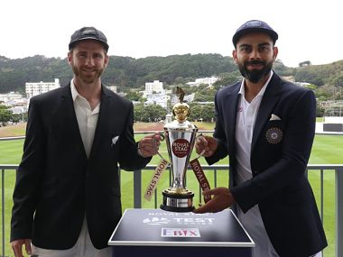 India vs New Zealand, Highlights, 1st Test, Day 2 in Wellington: Kiwis score 216/5 at stumps, lead by 51 runs