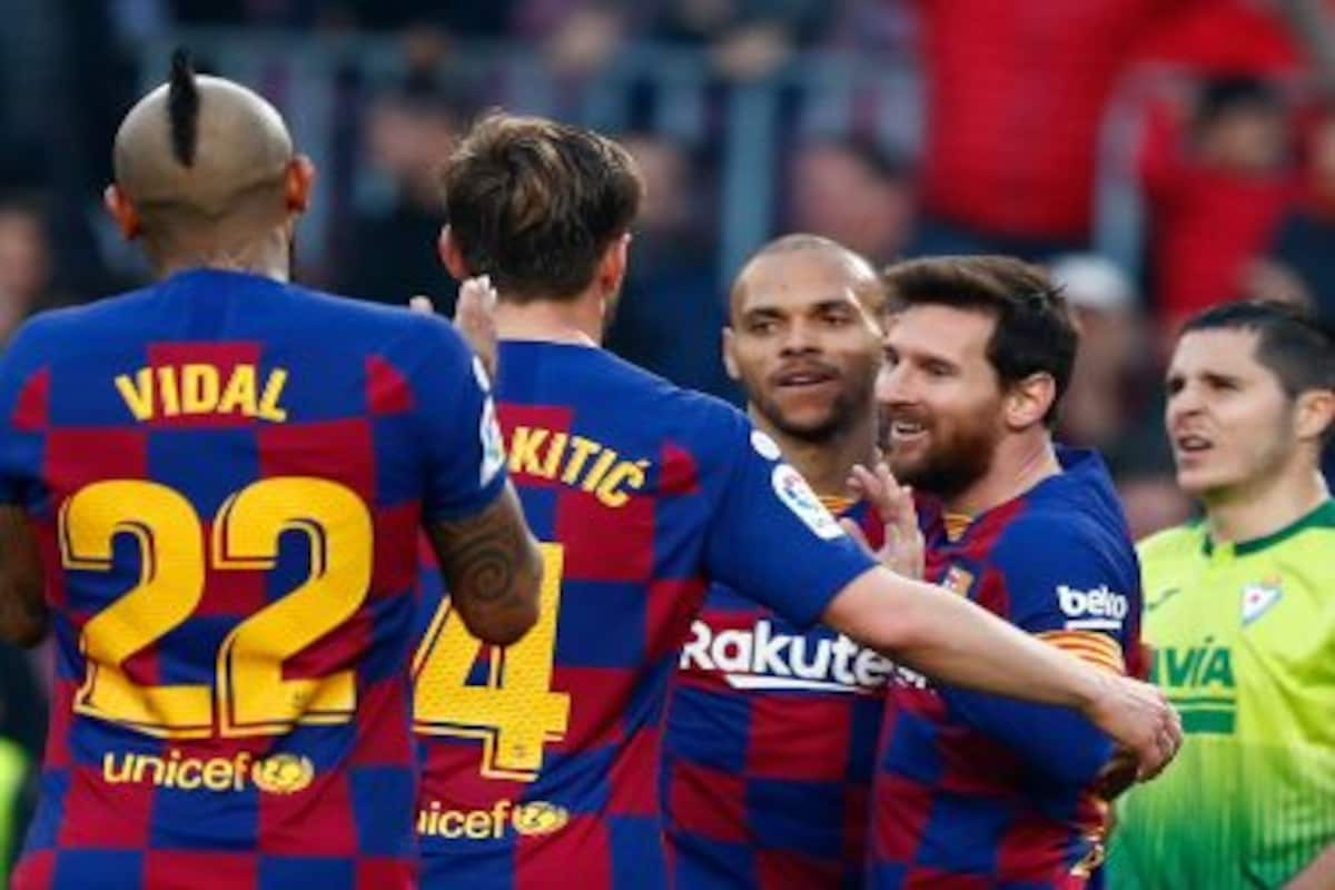 Coronavirus Outbreak Fc Barcelona Players To Take 70 Percent Wage Cut Captain Lionel Messi Announces On Social Media Health News Firstpost