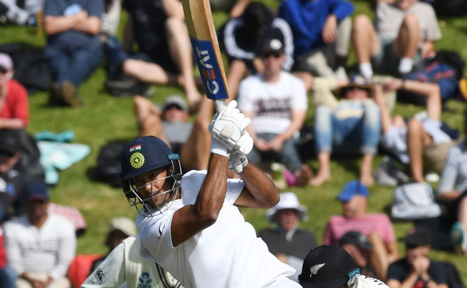 Mayank Agarwal registered his fourth Test fifty, giving something for the visitors to smile about. AP