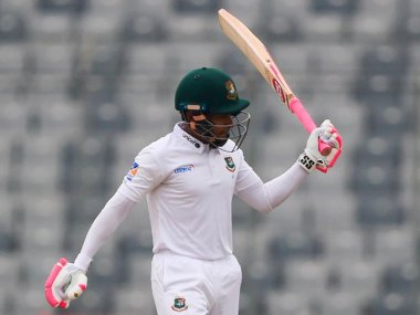 Bangladesh vs Zimbabwe: Mushfiqur Rahim's third double ton give hosts complete control on Day three of one-off Test