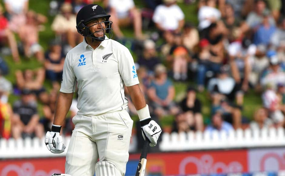 Ross Taylor and Williamson put on a 93-run stand and allowed the Kiwis to take lead over India. Taylor (44) perished in the 53rd over as Ishant had him caught at short-leg. AP