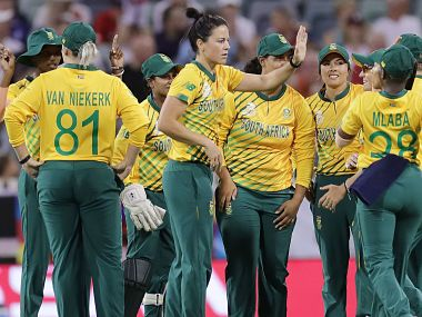 ICC Womens T20 World Cup 2020: Mignon du Preez, Dane van Niekerk seal South Africas nervy victory over England