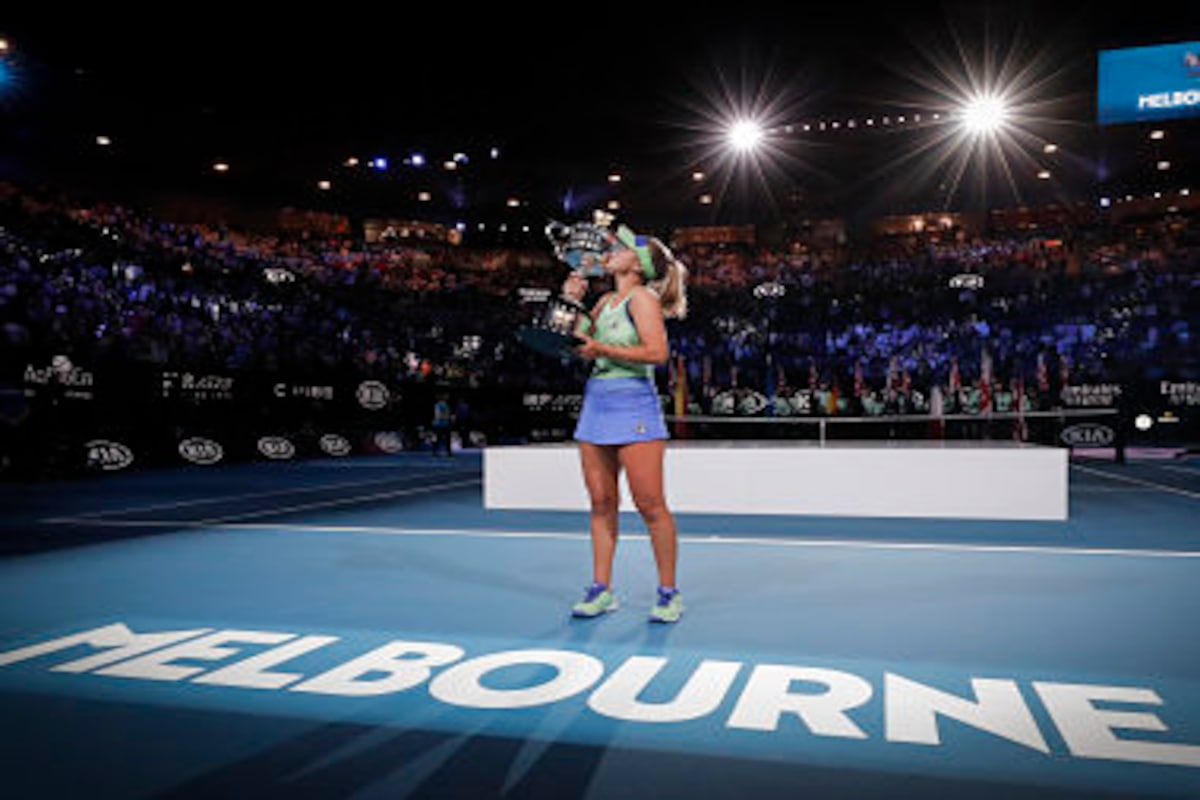 Australian Open 2020 Sofia Kenin Turns Adversity Into Glory As She Scripts Memorable Final Win Over Garbine Muguruza Sports News Firstpost