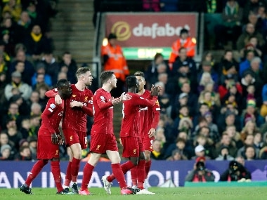 Premier League: Sadio Manes sublime second-half strike headline Liverpools win over Norwich City to go 25 points clear