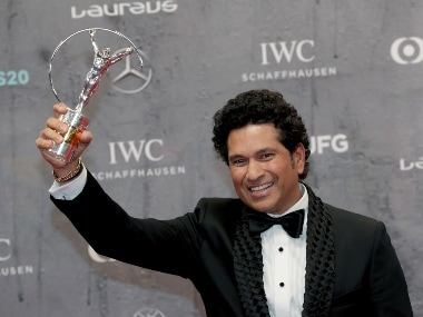 Laureus Awards 2020: Sachin Tendulkar's victorious lap after clinching 2011 World Cup wins best Sporting Moment in last 20 years