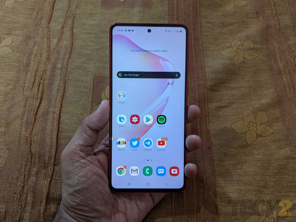 Samsung Galaxy Note10 Lite Review Only For Those Wanting S Pen On A Budget Others Look Elsewhere Technology News Firstpost
