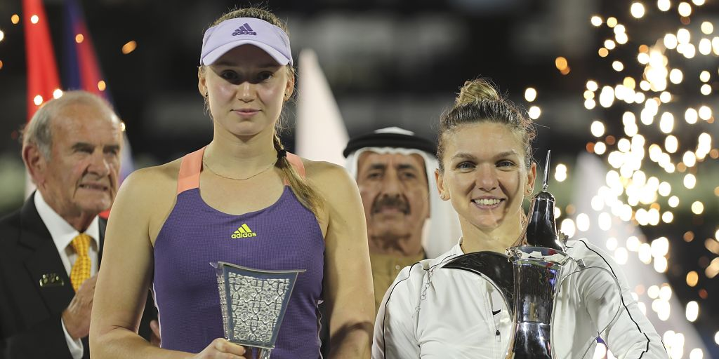 Dubai Tennis Championships: Simona Halep's newfound offense and Elena Rybakina's risk-free power produce thrilling final - Firstpost