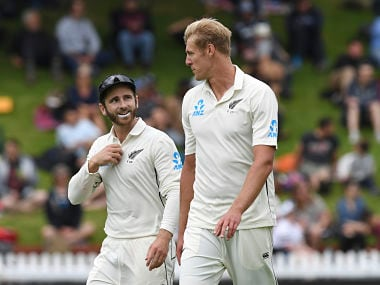 India vs New Zealand: With Basin Reserve wicket as his ally, Kyle Jamieson makes first day of debut Test count