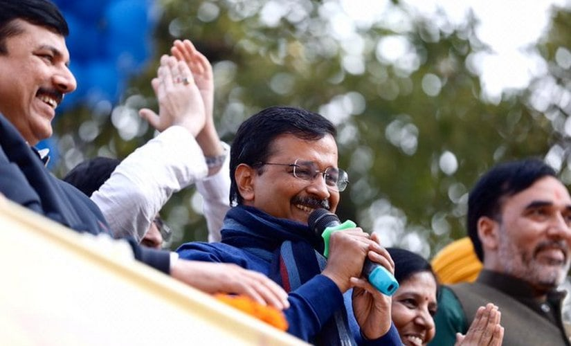 Delhi CM Arvind Kejriwal Swearing-in LIVE Updates: Teachers, bus marshalls among 50 people to share stage with Kejriwal; AAP chief to take oath soon - Firstpost