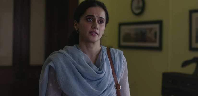 Taapsee Pannu says her film Thappad does not oppose Sandeep Vanga Reddy's Kabir Singh, but physical abuse in a relationship