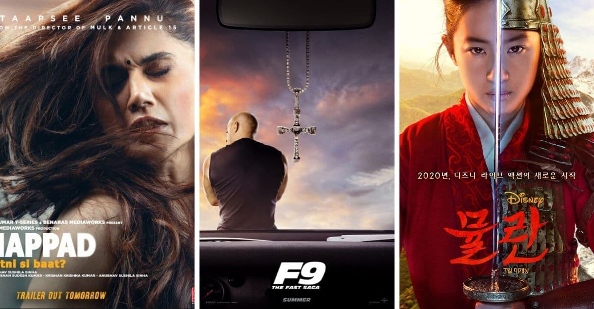 Thappad, Bhoot: Part One, Black Widow, Mulan, Fast Furious 9: a compilation of all trailers released this week- Entertainment News, Firstpost