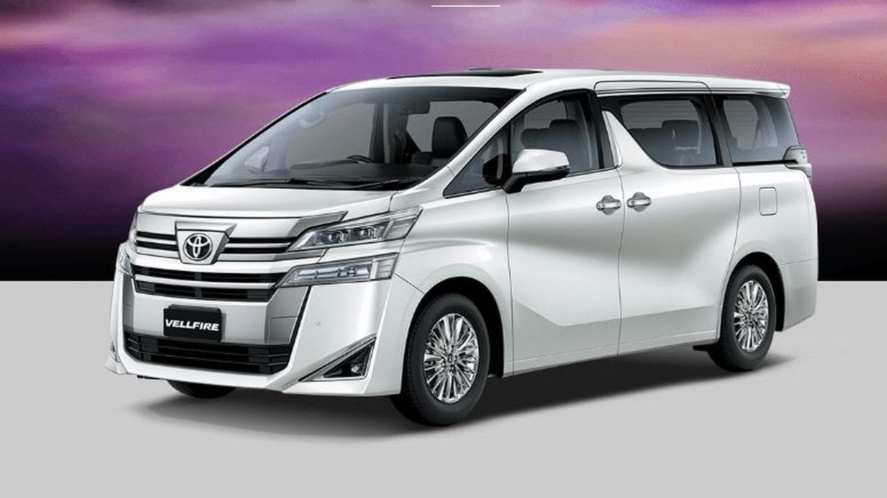 Toyota launches Vellfire MPV with hybrid-technology in India at a price of Rs 79.5 lakh