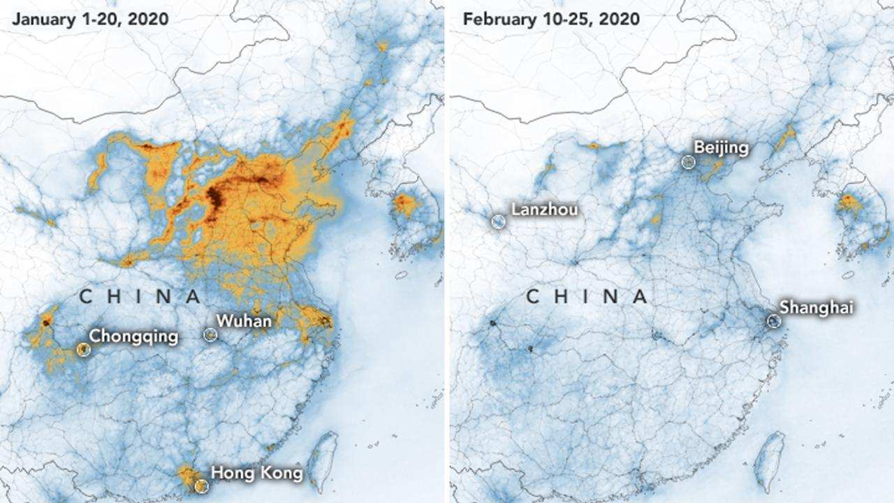 Air pollution in China decreases after COVID-19-related lockdowns come into play