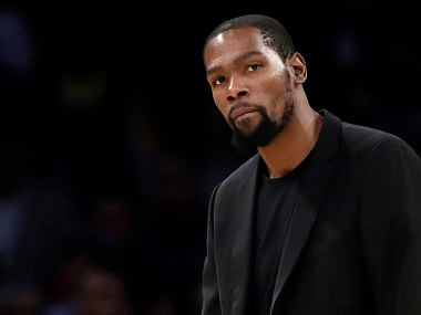 Coronavirus pandemic: Kevin Durant among four Brooklyn Nets players to test positive for COVID-19