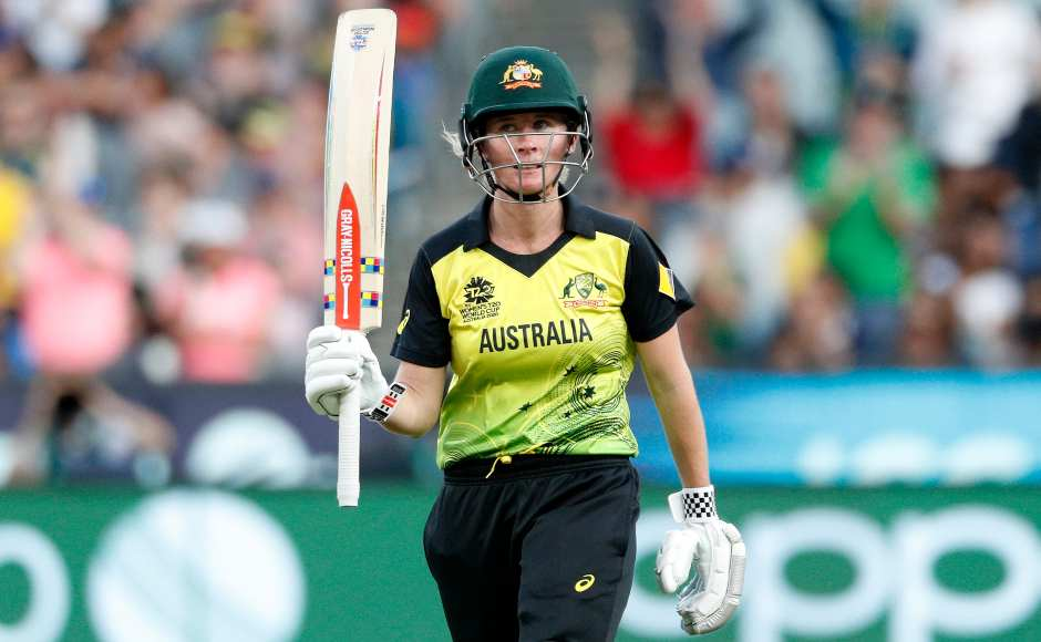 Beth Mooney also followed Alyssa Healy in registering a fifty. Australia went onto to score 184-4 after 20 overs. AP