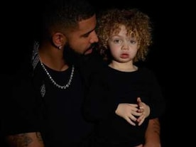 Rapper Drake introduces his two-year-old son Adonis Graham in an emotional post on Instagram