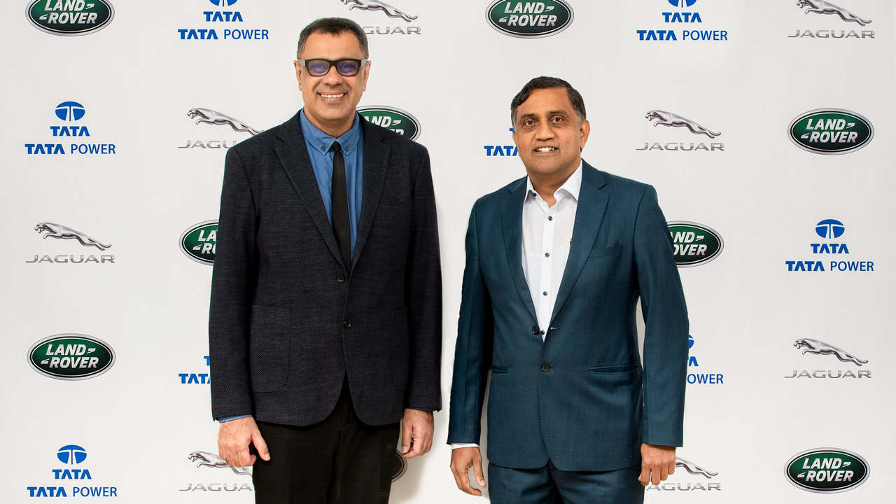 Jaguar Land Rover India partners with Tata power for its electric vehicle charging solutions