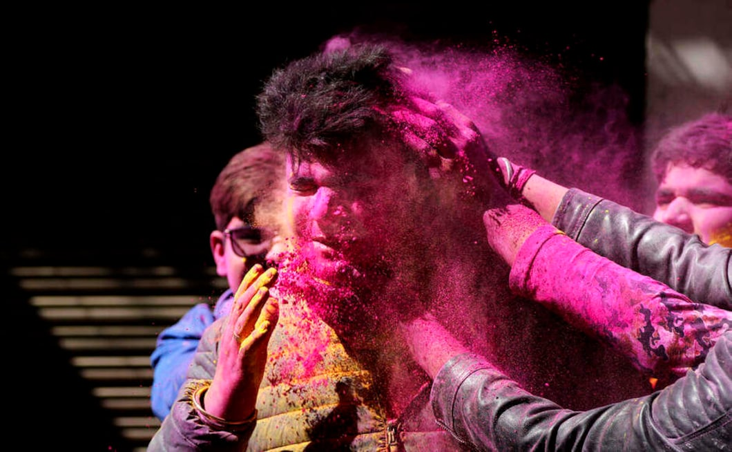 "But the coronavirus, which has infected nearly 40 people in India, looks set to spoil the fun this year. ""Avoid participating in large gatherings,"" the Ministry of Health said in notice warning of the danger of the virus, while wishing everyone a ""Happy and Safe Holi"". AP"