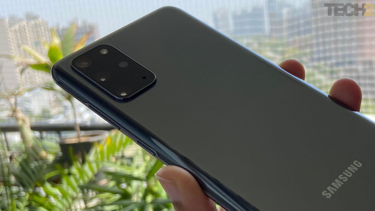 Samsung Galaxy S20 Plus has a quad-camera setup at the back. Image: tech2/Nandini Yadav