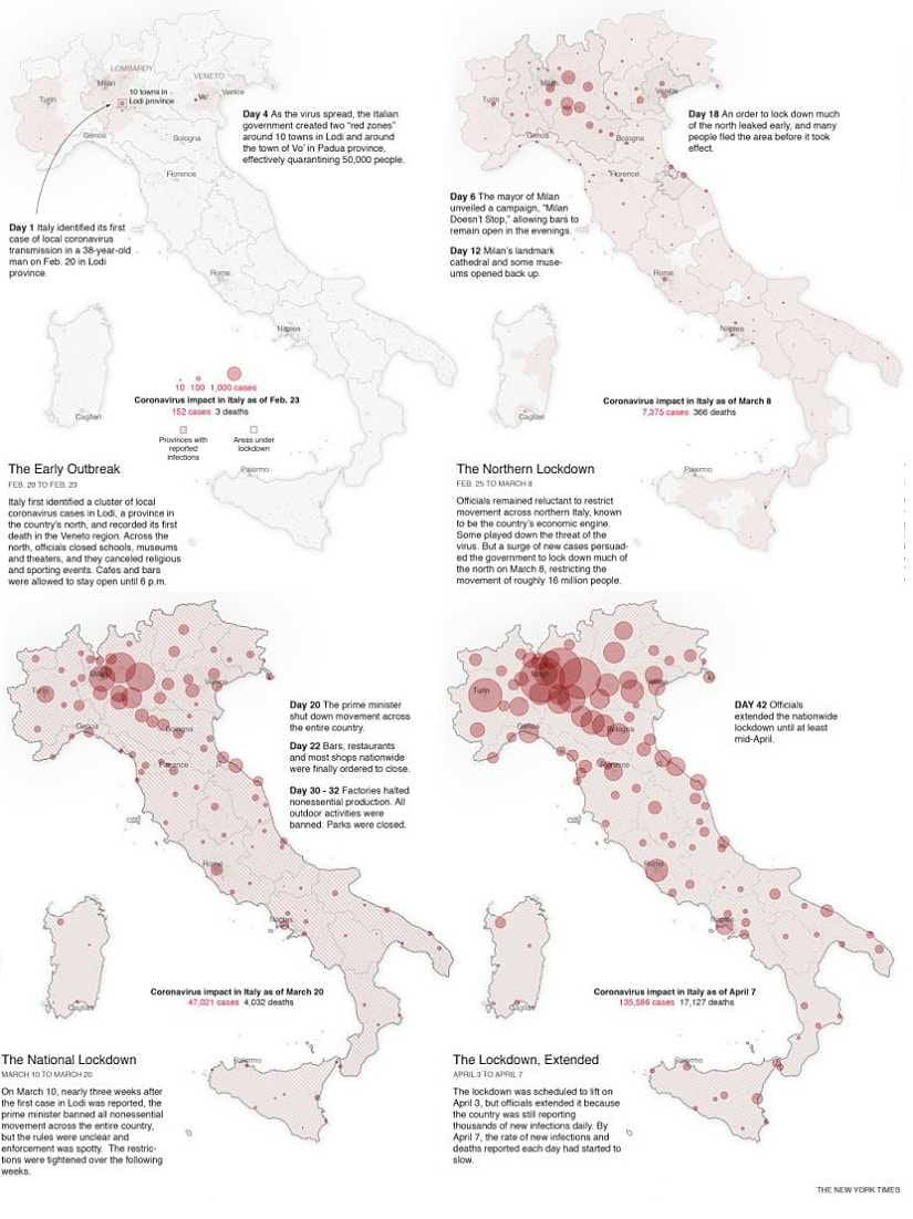 Italys coronavirus shutdown came much too late into the crisis: A look at what happens next