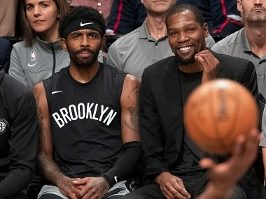 NBA: Brooklyn Nets GM Sean Marks still not sure when Kevin Durant, Kyrie Irving could play for team