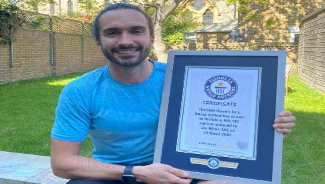Joe Wicks bags his second Guinness World Record for most ...