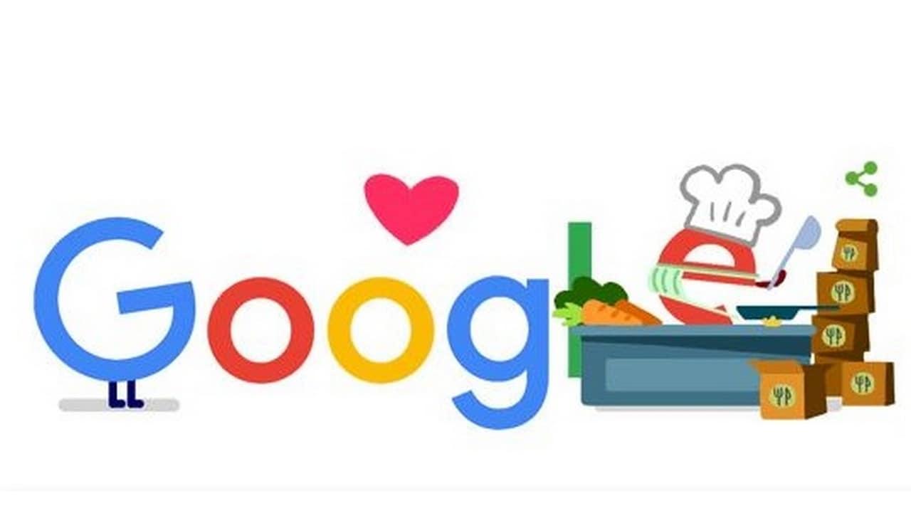Google Doodle honours all food service workers during coronavirus pandemic
