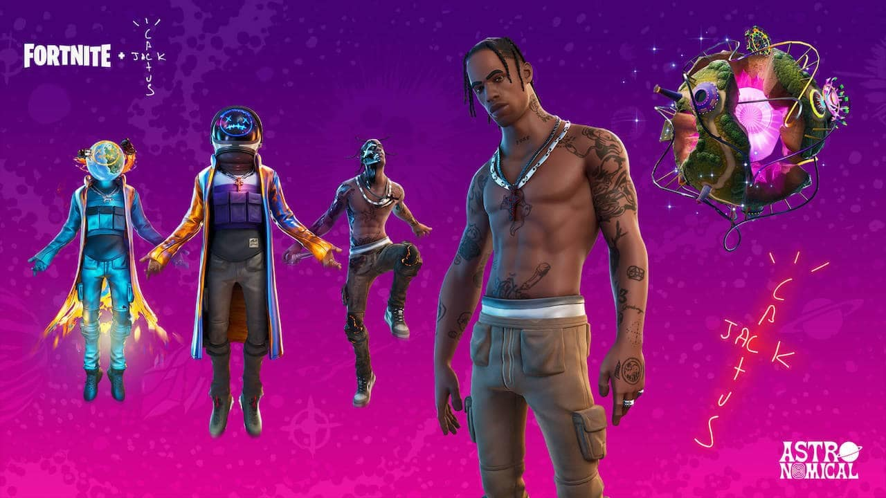 Fortnite gears up with virtual music festival with Travis Scott, check date and time here