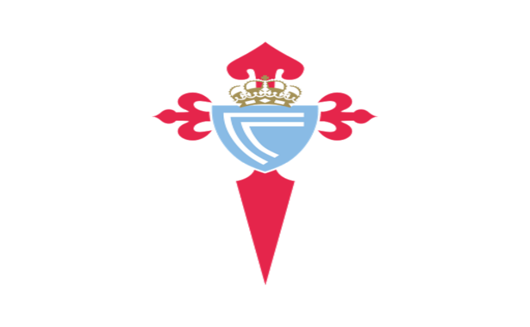 Like many Galician clubs, the club badge of Celta Vigo is based on the red cross of Saint James and provides background to a sky-blue shield with two c's to represent Club Celta. Celta Vigo were granted Royal patronage by King Alfonso XIII, hence the crown, and temporarily became named Real Club Celta de Vigo. However, during the Spanish Second Republic the title Real was removed from their name and the Royal Crown removed from the crest, before latterly being reinstated under the Spanish State.